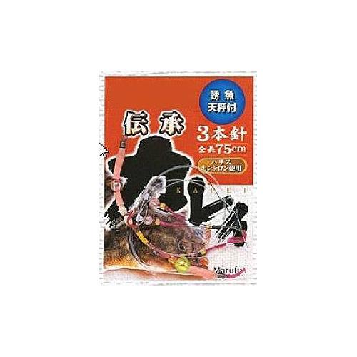 まるふじ E101 伝承カレイ 3本針...