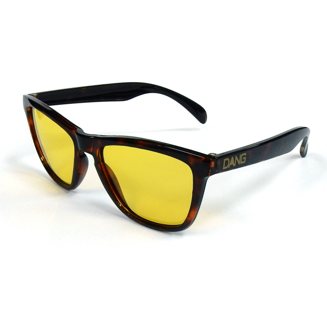 Dang Shades ORIGINAL(オリジナル) DarkBrownTortoiseXClearYellow