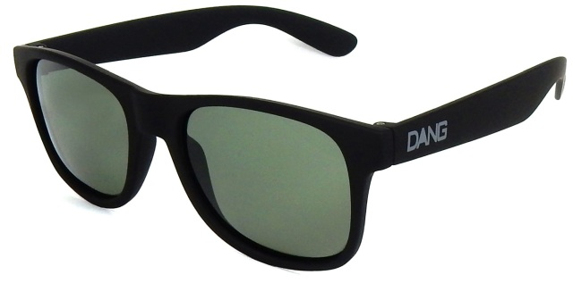 Dang Shades LOCO(ロコ) BlackSoft x DarkGreen Gray