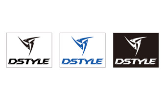 DSTYLE DSTYLE LOGO カッティングステッカー タイプ2 WHITE