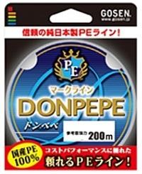 ゴーセン PE ドンペペ 200M 0.8