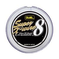 デュエル SUPER XーWIRE 8 300m 0.8号 5色染分け