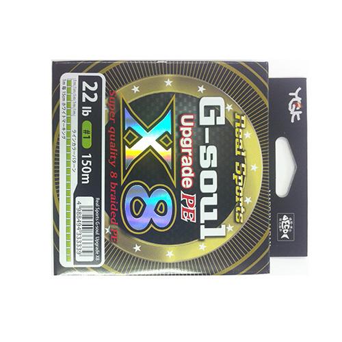 ヨツアミ G-soul X8 アップグレード 1号(22lb) 150m