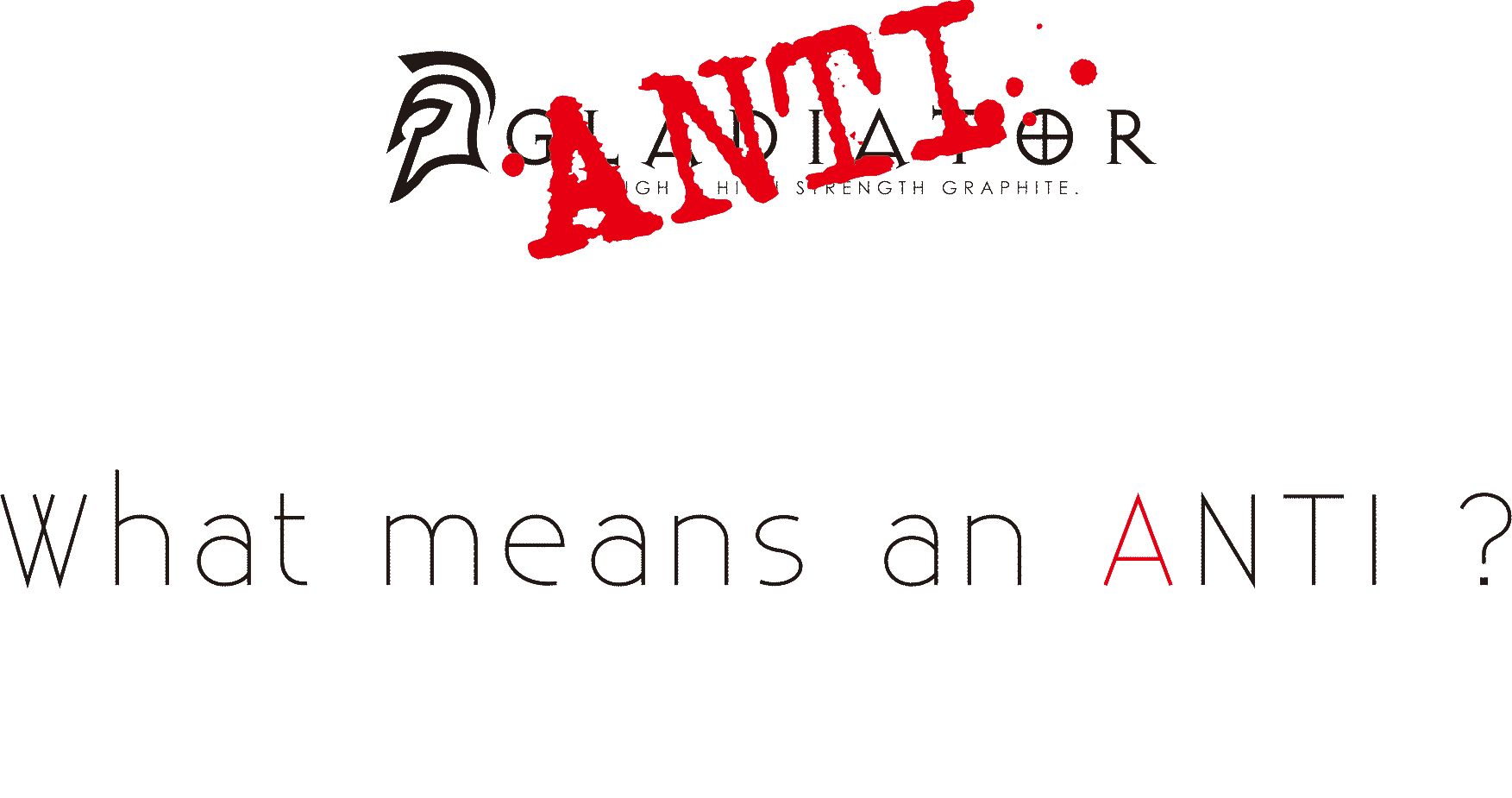 What means an ANTI ?(Antiとは?)