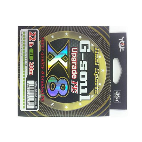ヨツアミ G-soul X8 アップグレード 1号(22lb) 200m
