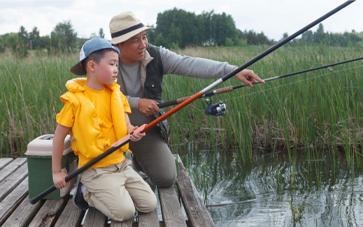 川・池釣り